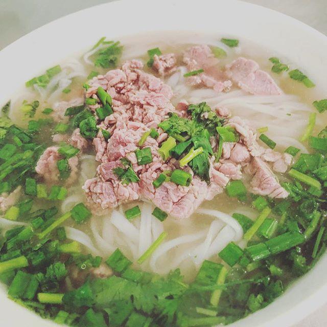 久し振りのフォー、美味かった。#ベトナム